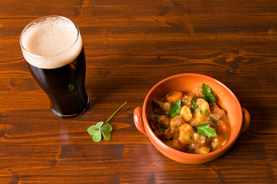 On Friday and Saturday 17, 18 March treat yourselves to a pint of Guinness and a bowl of Irish Stew all for £5.00