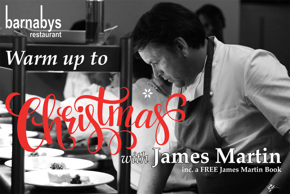 Christmas with James Martin 13th Nov 2017
