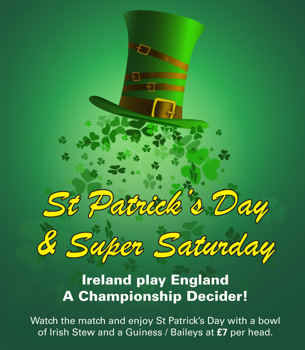 St Patricks Day 2018 at Barnabys Restaurant