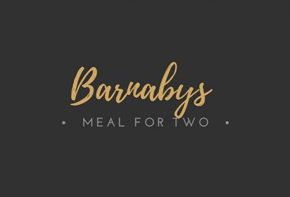 Barnabys Meal for Two