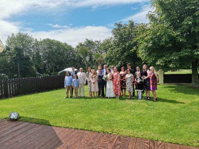August Weddings at Barnabys Restaurant Ballyclare